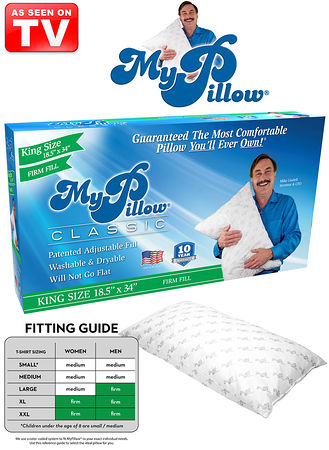 My Pillow King Size Firm Feelgood Store